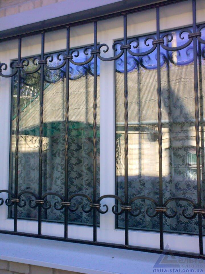 Поликарбонатные решетки на окна