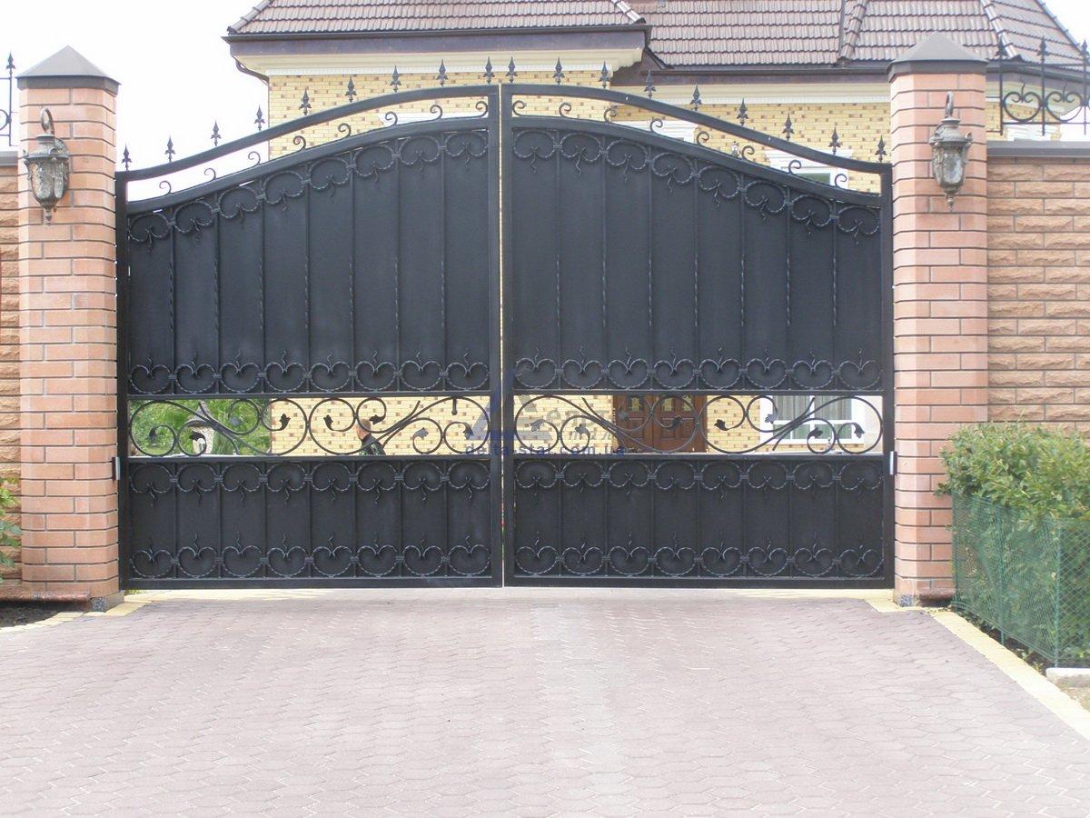 Ворота калитки киеве схема сдвижные ворота