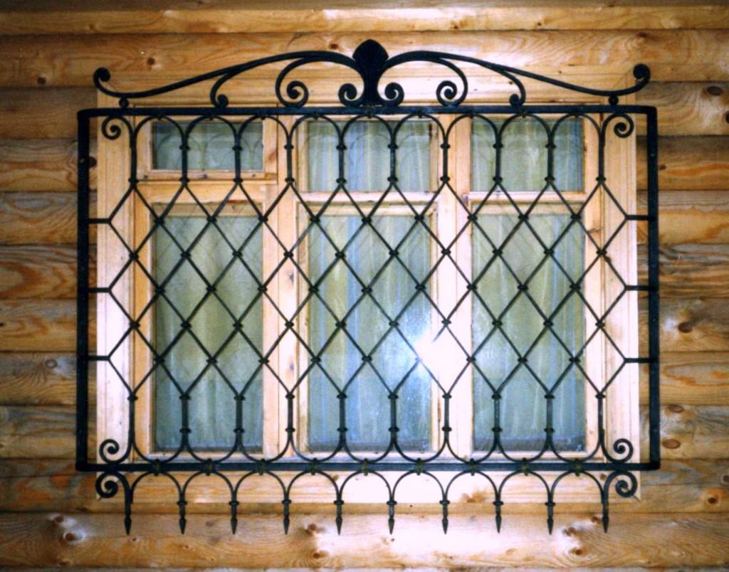 кованая решетка на окна харьков